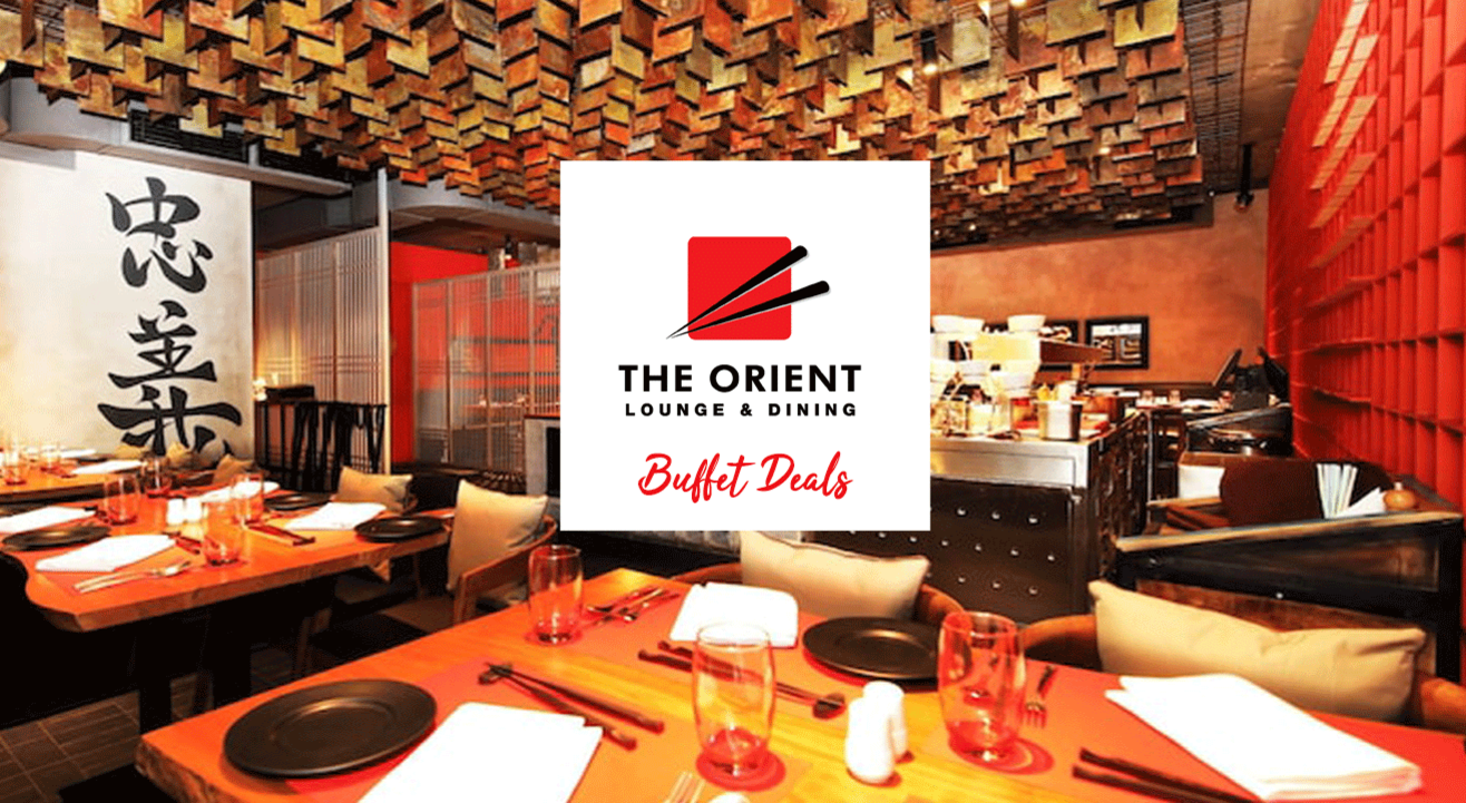 Buffet deals at Orient Lounge (CCII)