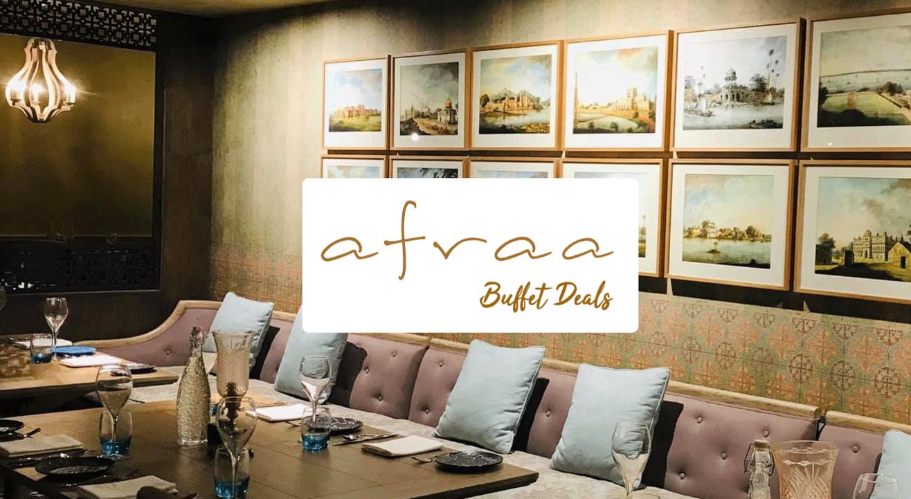 Buffet deals at Afraa (Saltlake)