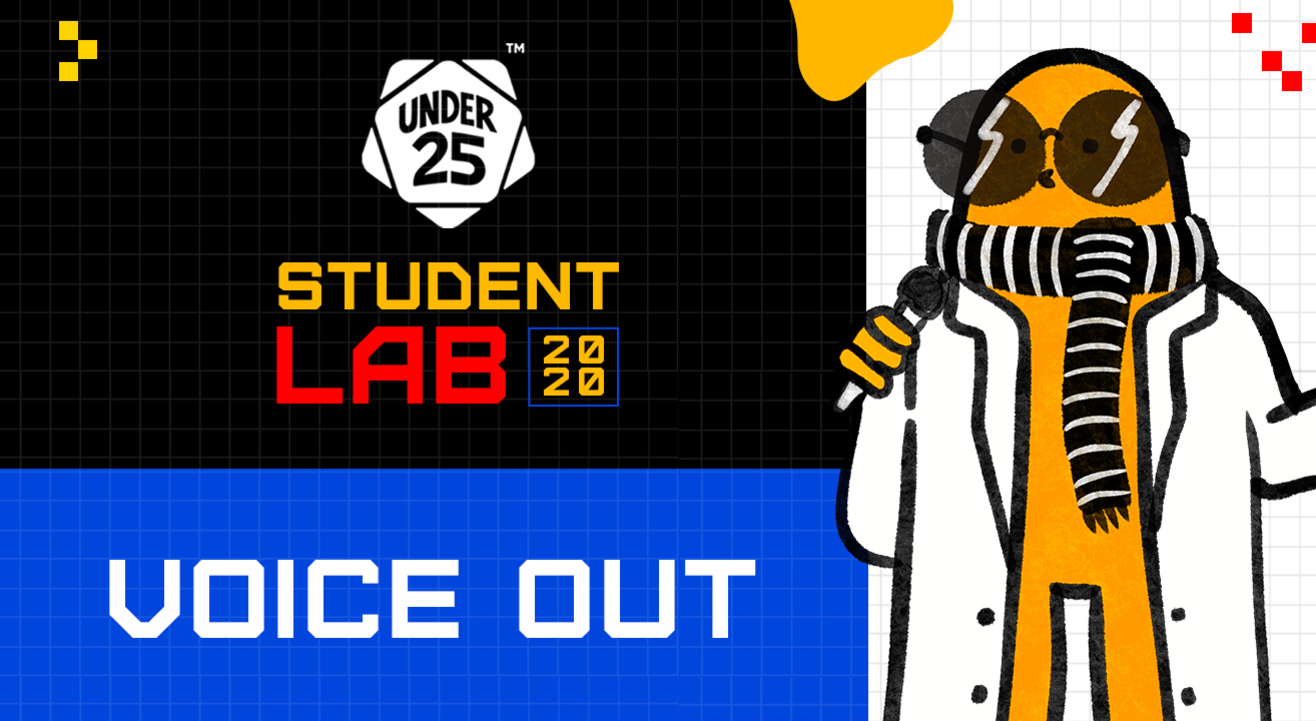 Under 25 Student Lab - Voice Out | Individual Registration