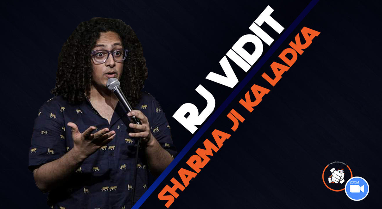 Punchliners Comedy Show ft. Vidit Sharma live in India
