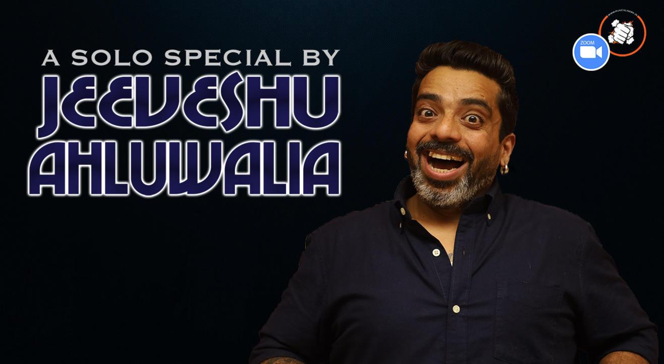 Punchliners Comedy Show ft. Jeeveshu Ahluwalia live