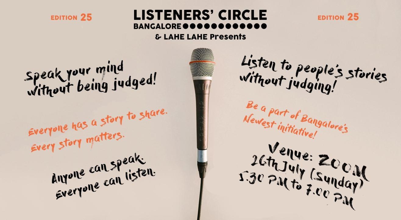 Listener's Circle - Edition 25 (Online)