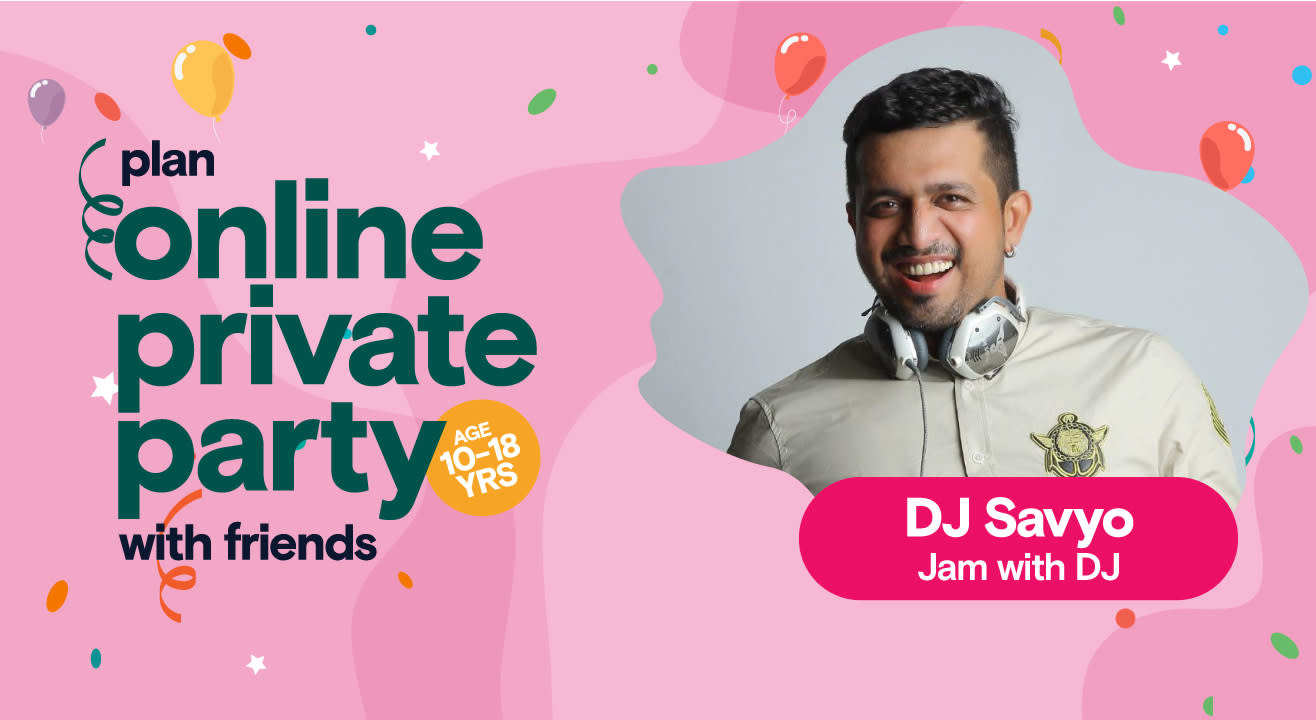 Private Party Celebrations with Savyo - Jam with DJ