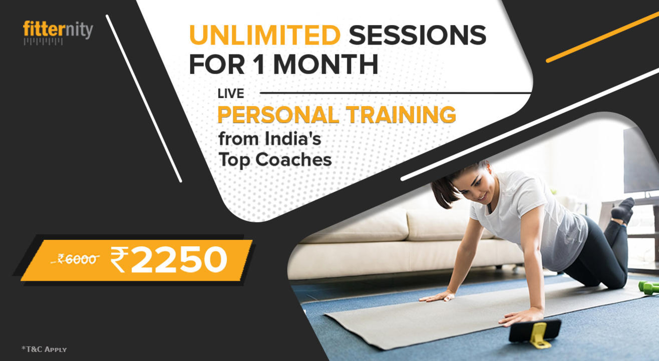 Unlimited Personal Training Sessions At Home - Train Live With The Best