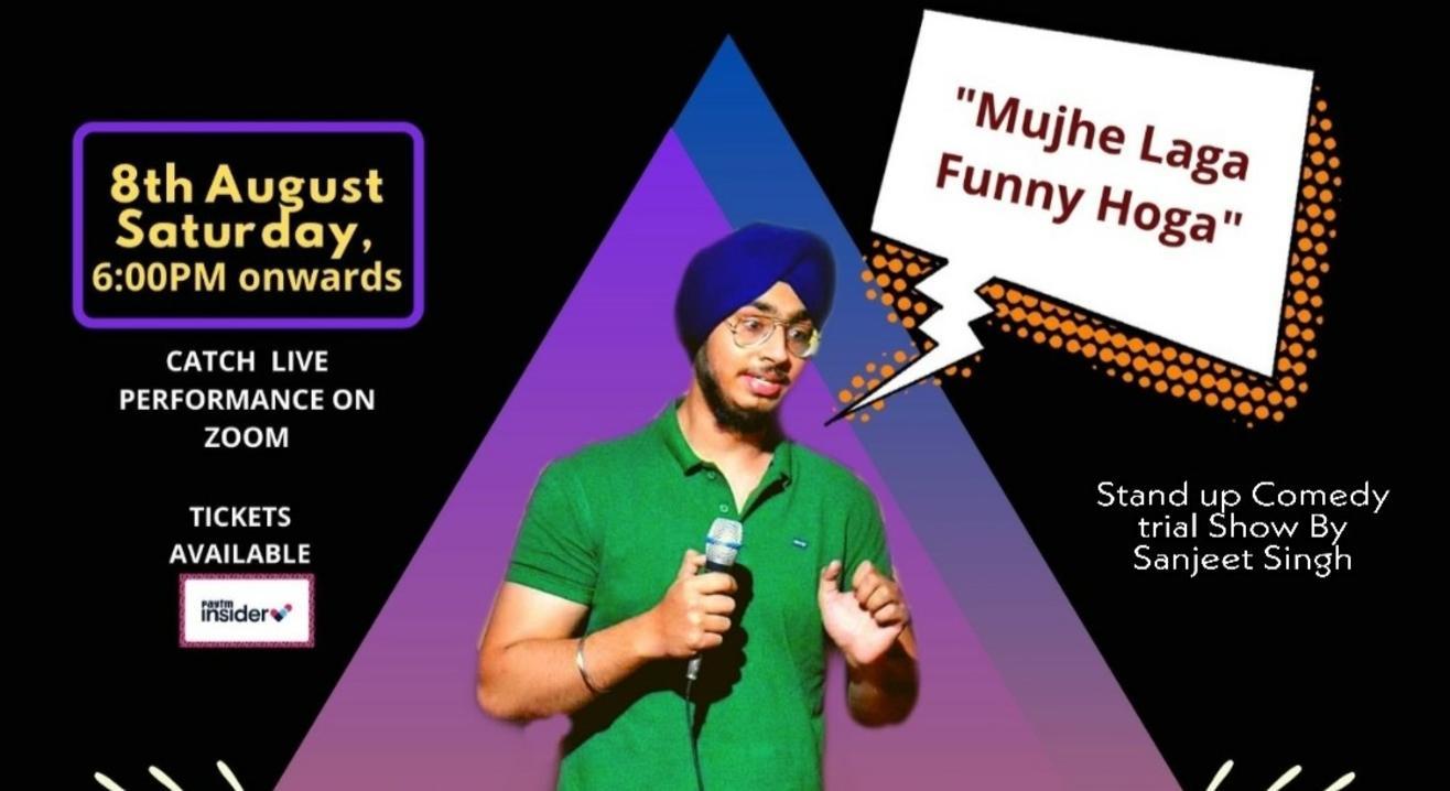 Mujhe Laga Funny Hoga I Trial show by Sanjeet Singh I Stand Up Comedy I Lafz Entertainments