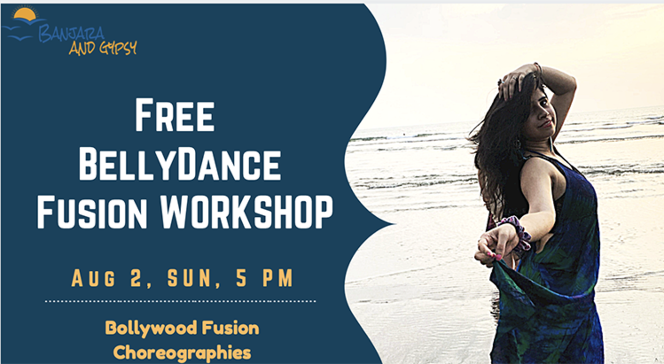 Free Bellydance + Bollywood Fusion Class