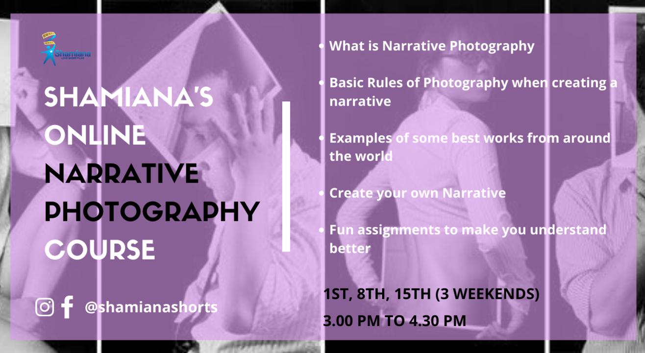 SHAMIANA'S Narrative Photography Course