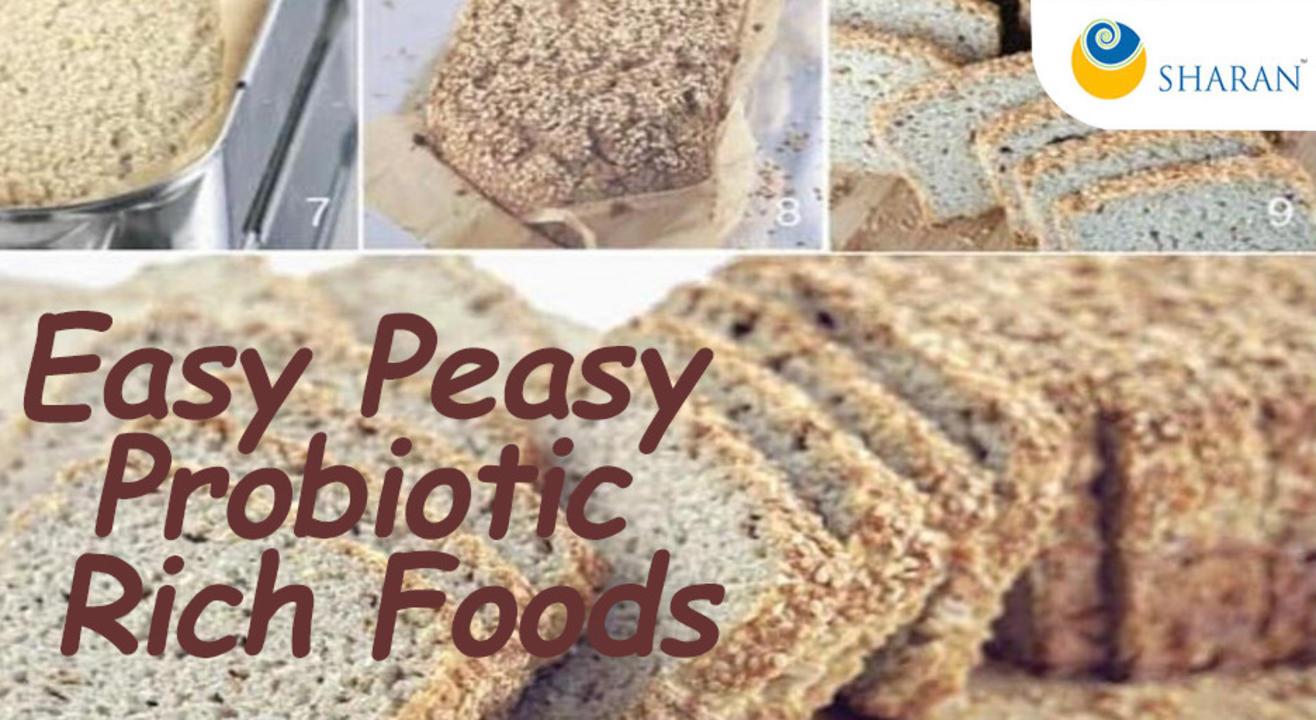 Easy Peasy Probiotic Rich Foods