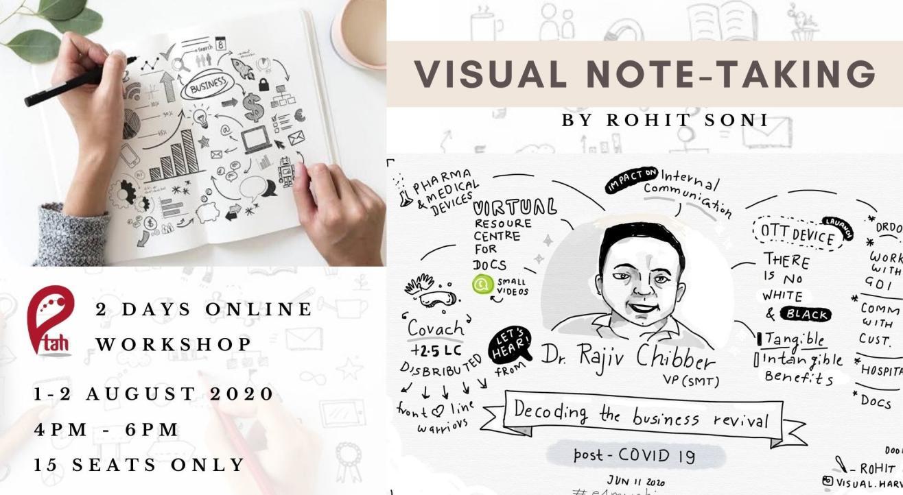 Visual Note-taking : Online Workshop