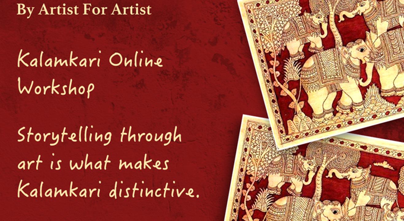 Kalamkari Online Workshop with BAFA