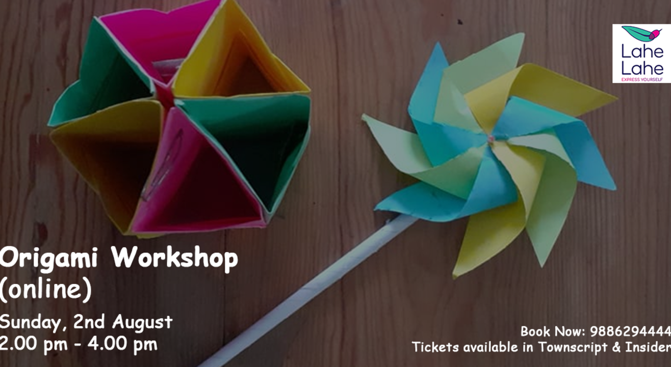 Origami Workshop (online)