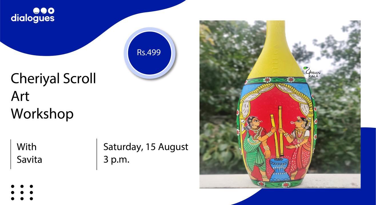Cheriyal Scroll Art Workshop