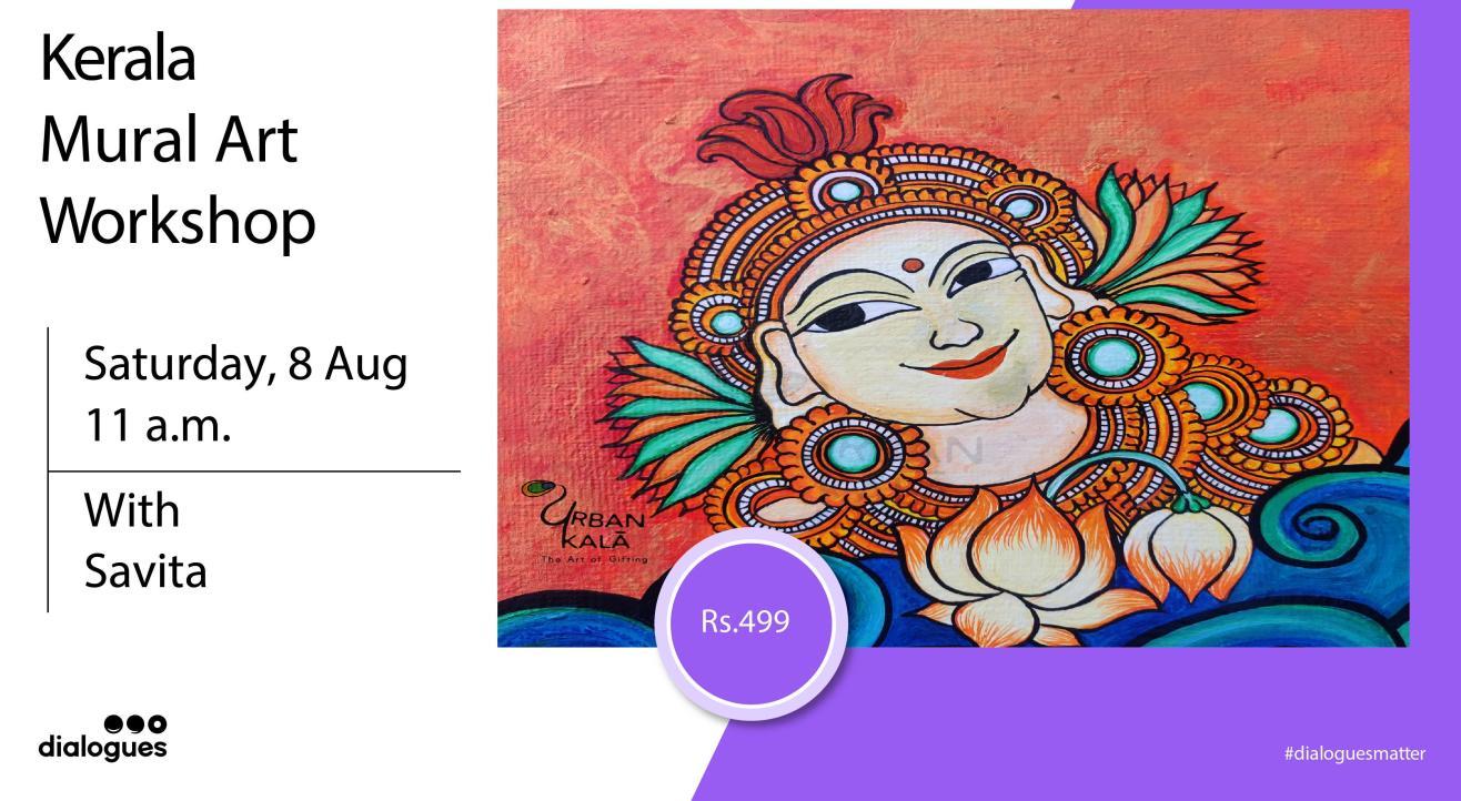 Kerala Mural Art Workshop