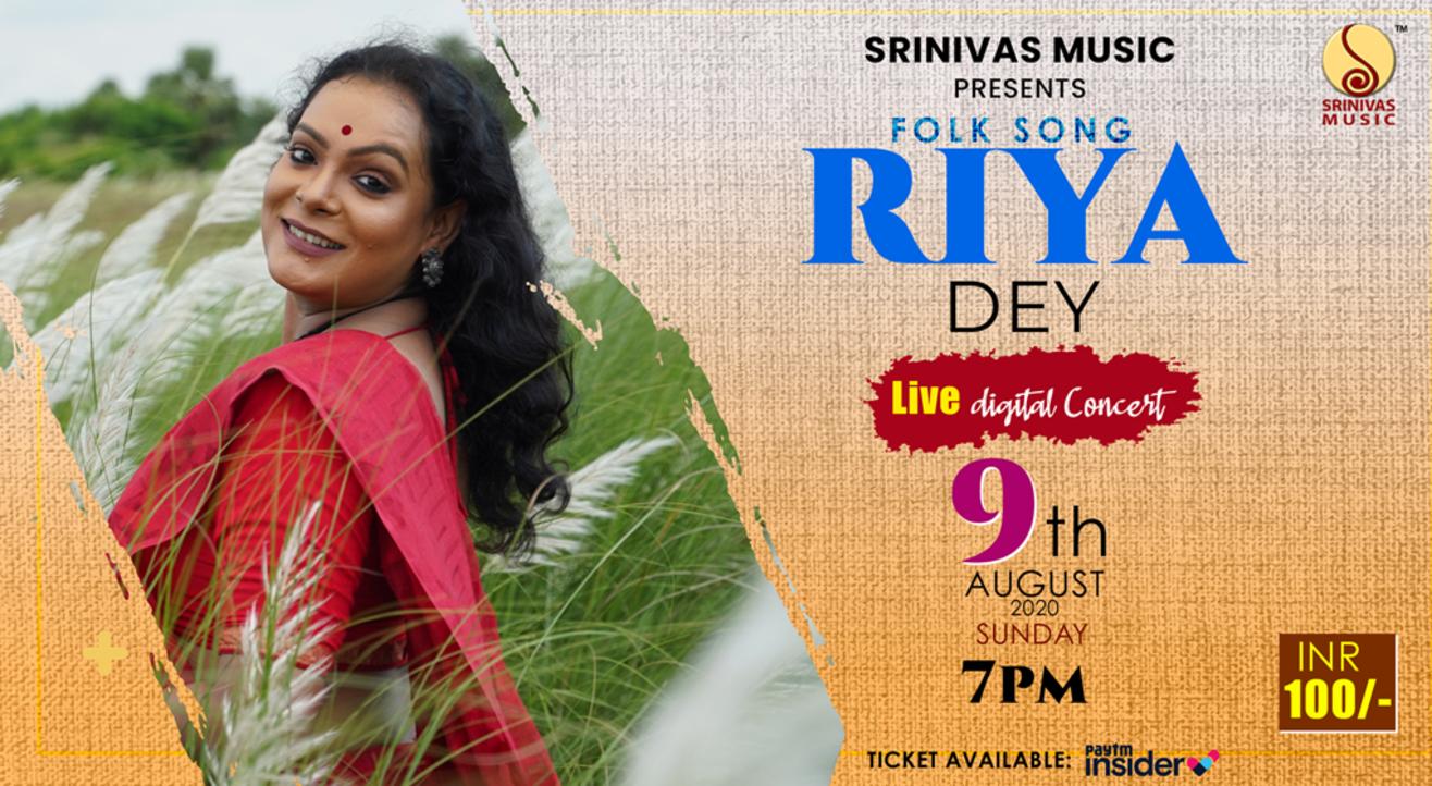 Riya Dey's Folk Song LIVE
