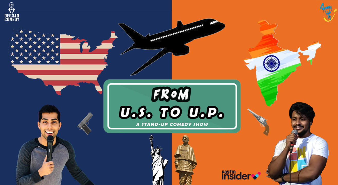 From U.S. to U.P. | Live Comedy Show