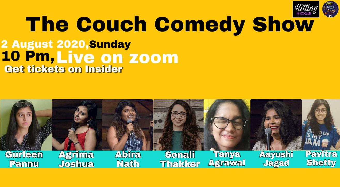 The Couch Comedy : A Female lineup show