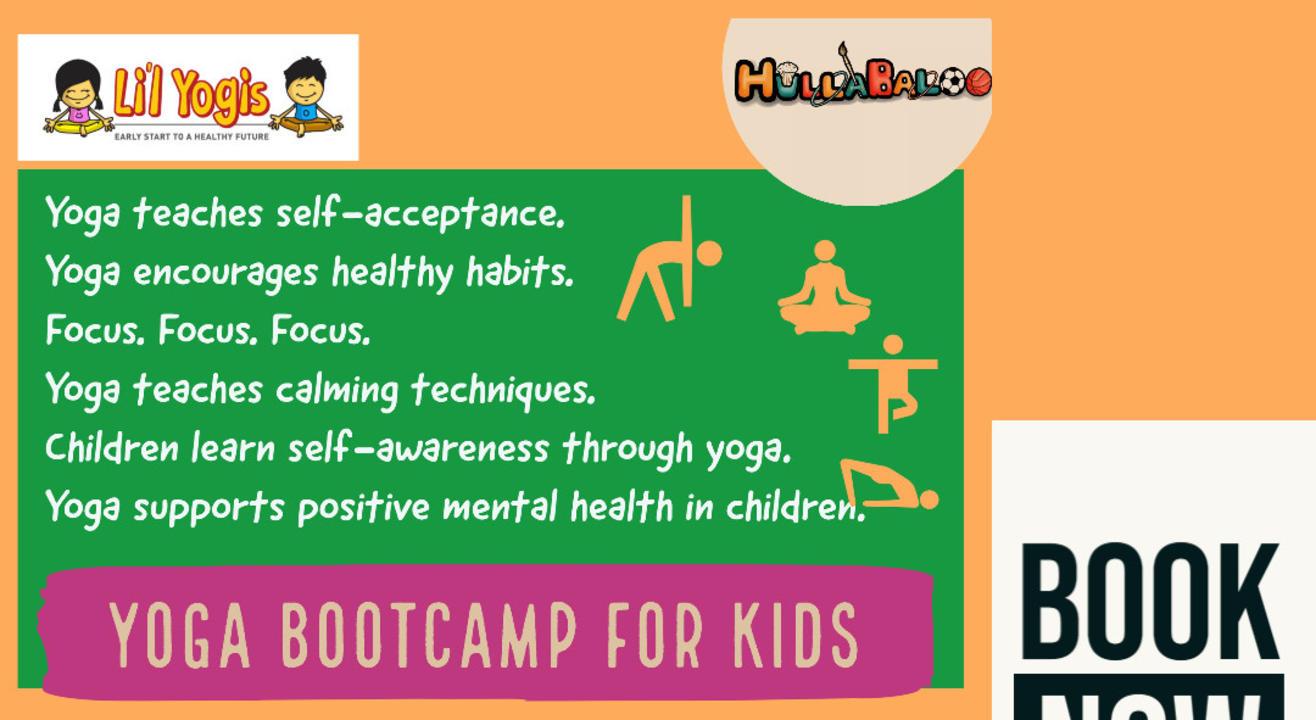 Hullabaloo X Li'l Yogis Online Yoga Camp