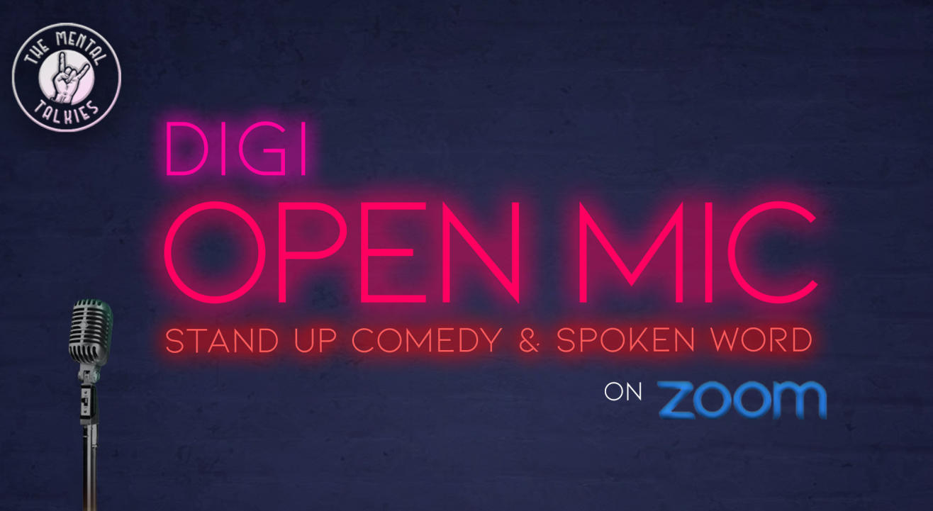 DiGi Open Mic: Stand Up Comedy and Spoken Word