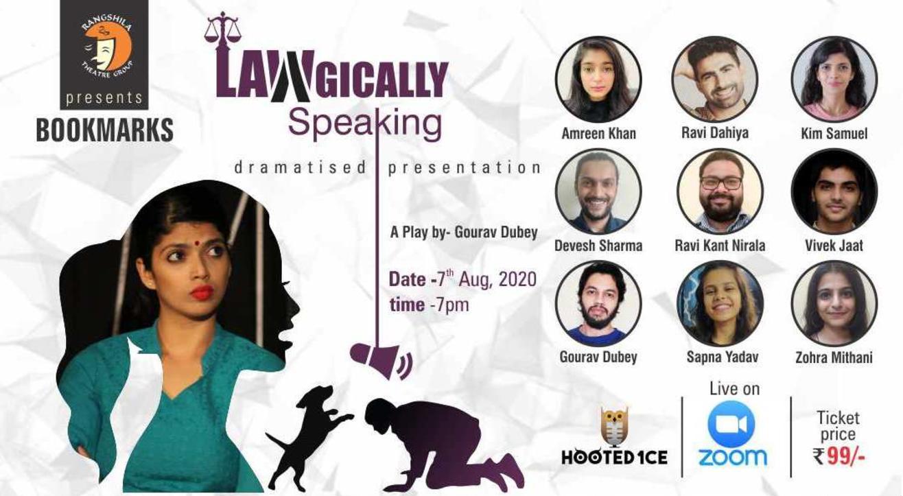 Lawgically Speaking Dramatised Presentation