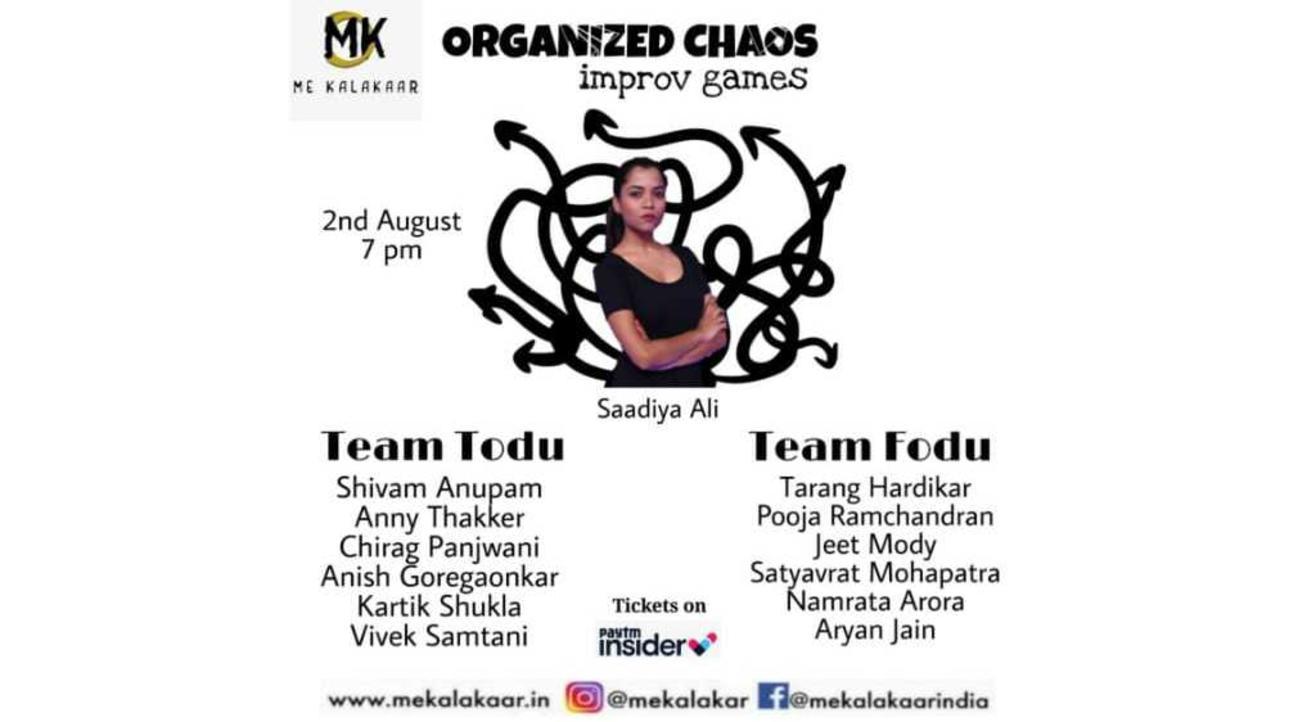 Organized Chaos - Improv Games - Me Kalakaar