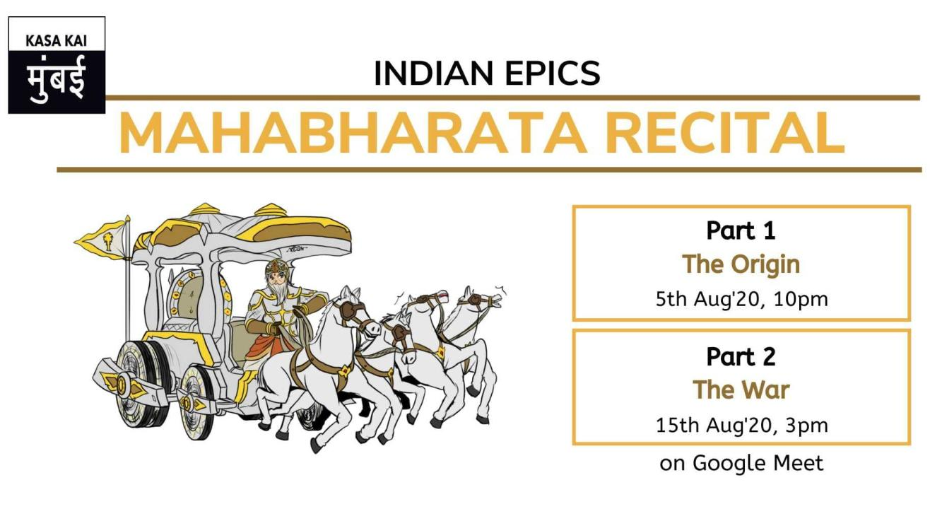 Mahabharata Recital : The Origin - The War At Google Meet