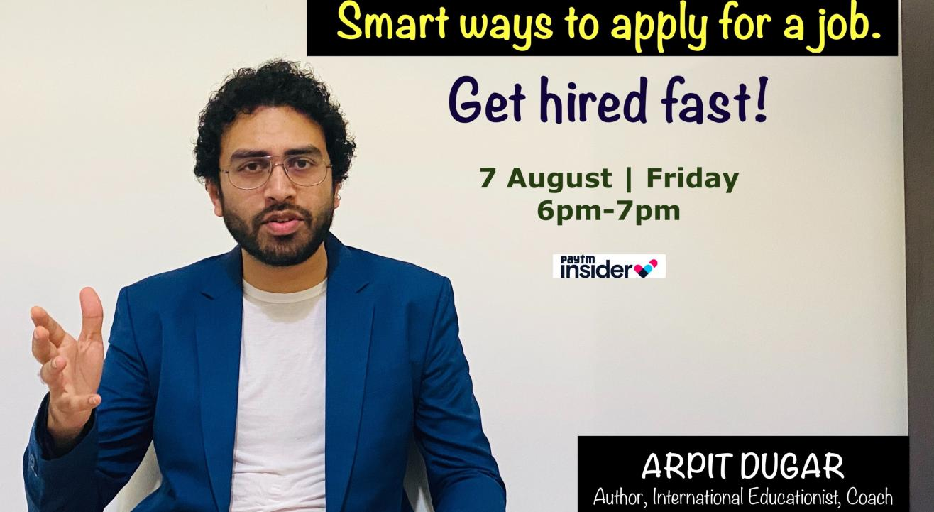 Smart ways to apply for a job - get hired fast!
