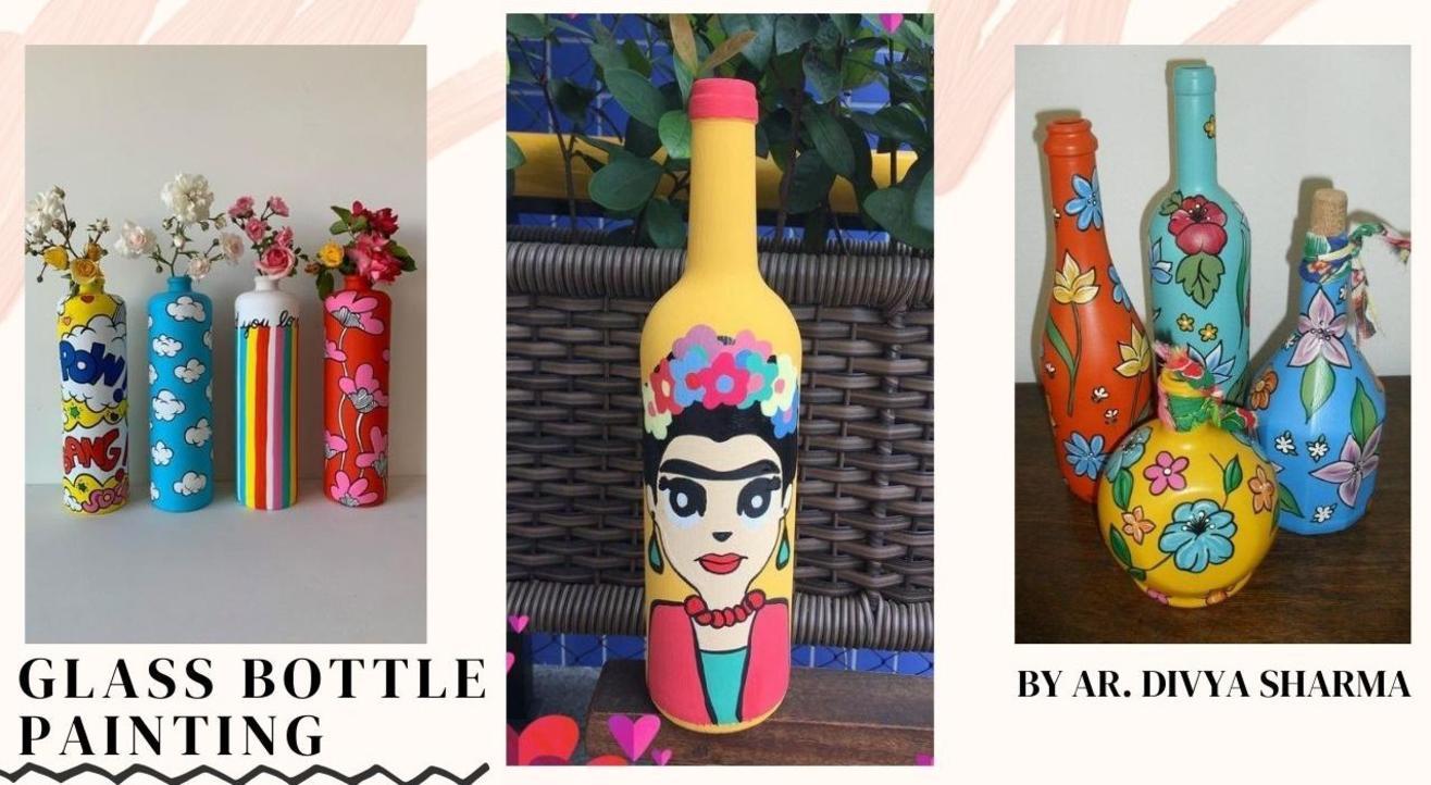 Glass Bottle Painting Workshop