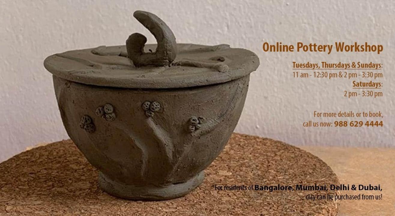 Online Pottery Workshop