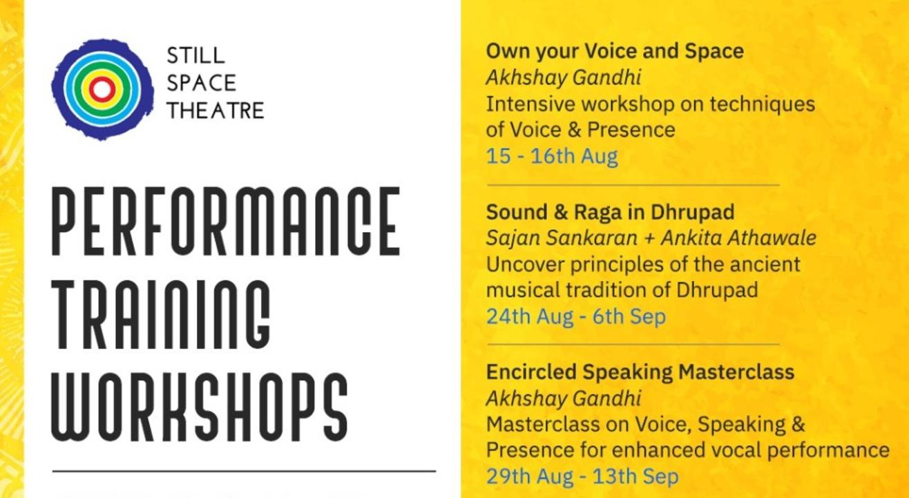 Own your Voice & Space: Workshop