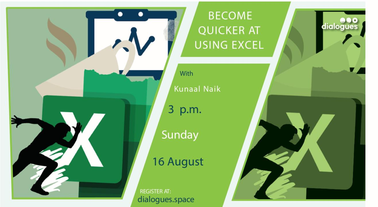 Become Quicker at using Excel
