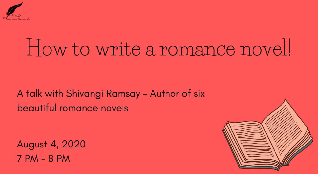 How to write a romance novel?