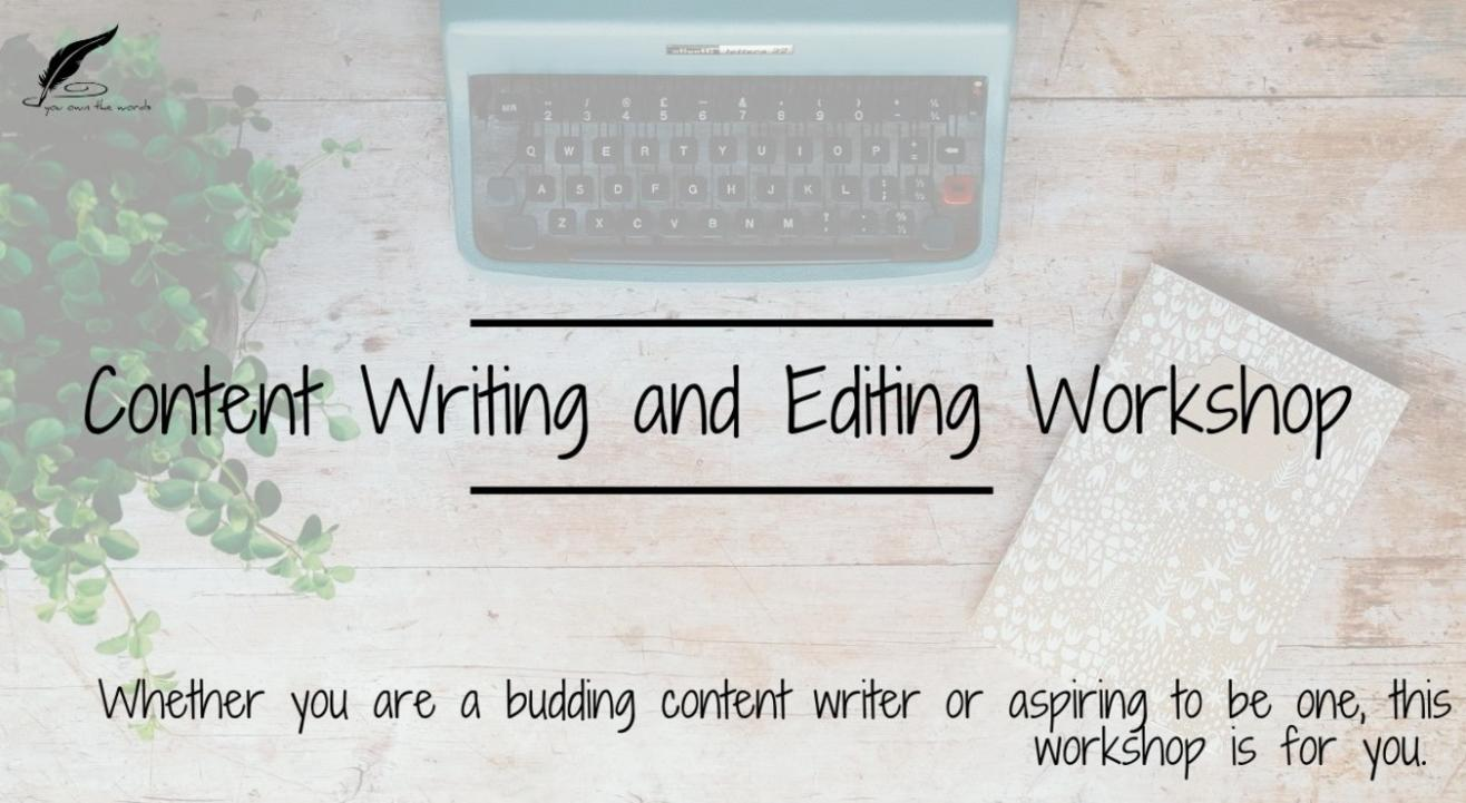 Content Writing Workshop