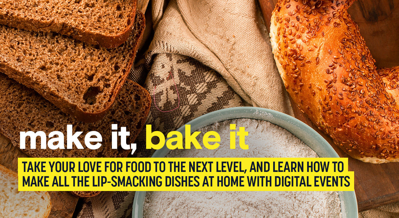 Bake, brew, and barbecue with interactive online food workshops