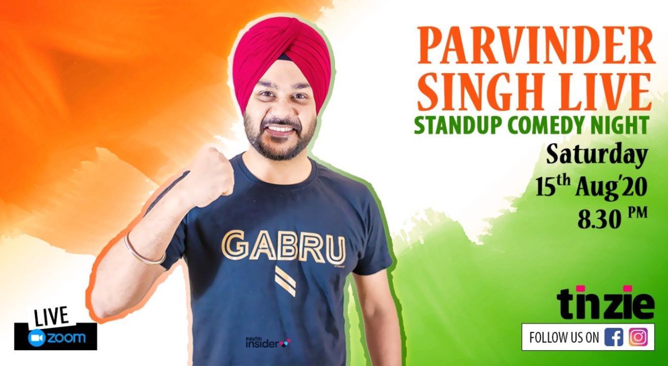 "Tinzie presents ""Parvinder Singh Live"""