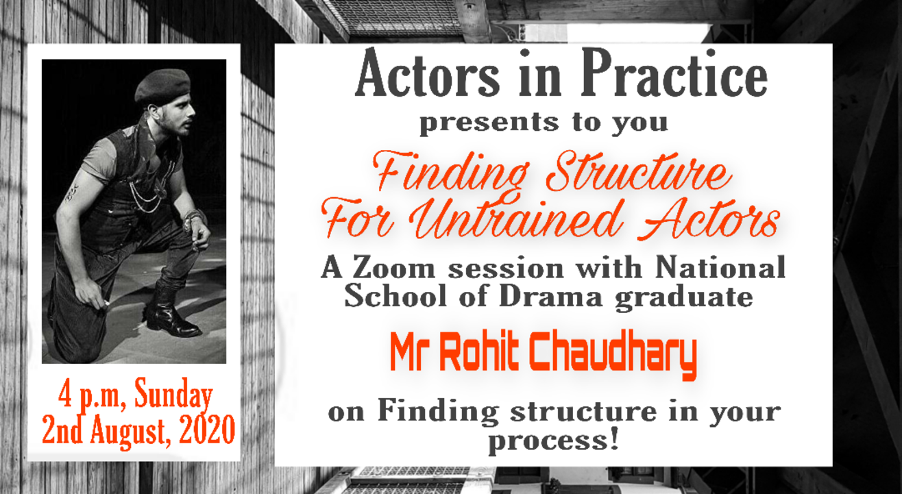 Finding Structure For Untrained Actors!