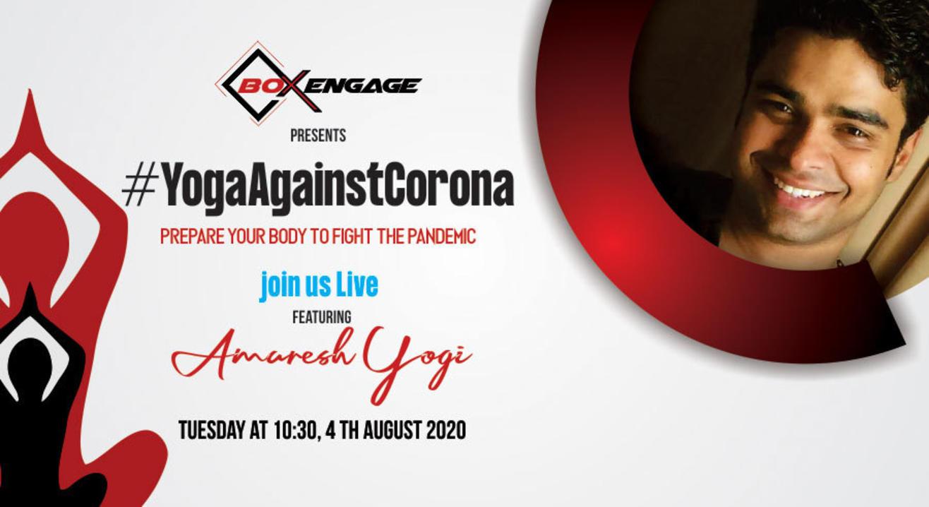 Yoga against Corona with Amaresh Yogi