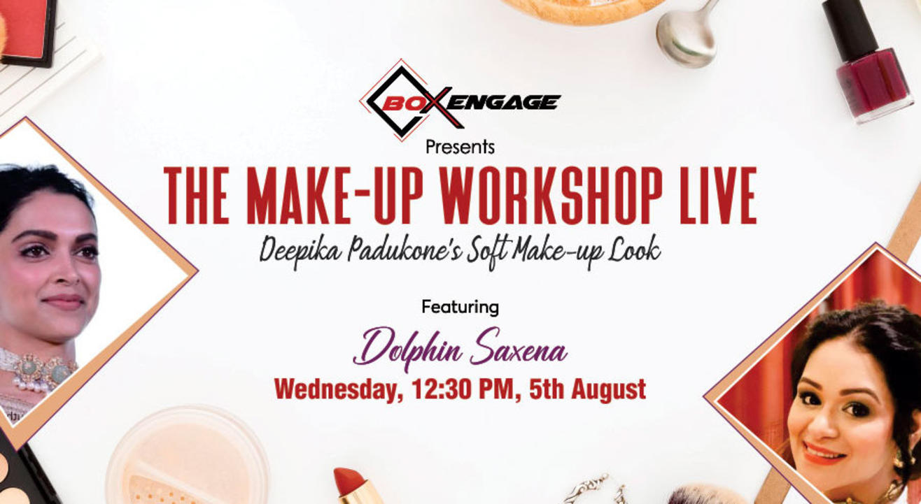 The Make-Up Workshop Live ft. Dolphin Saxena