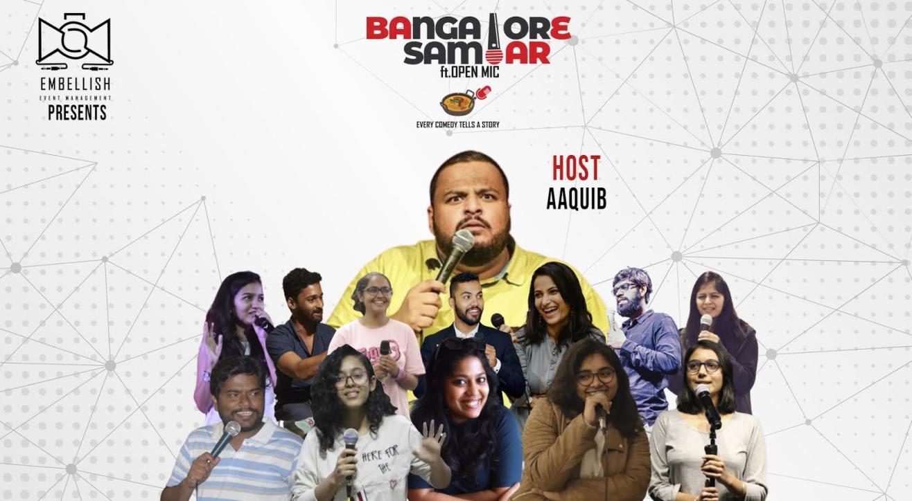 Bangalore Sambar ft.OPENMIC (English)   Embellish events