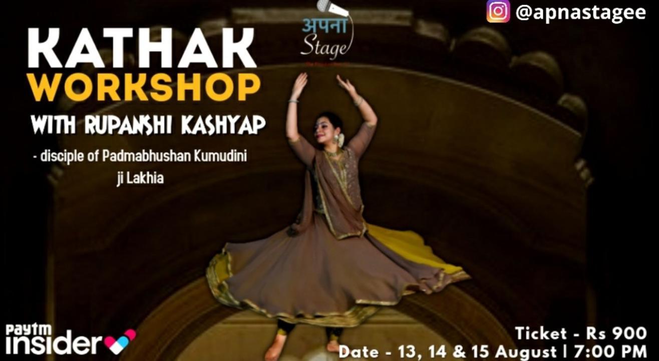 Kathak Workshop (Rupanshi Kashyap)