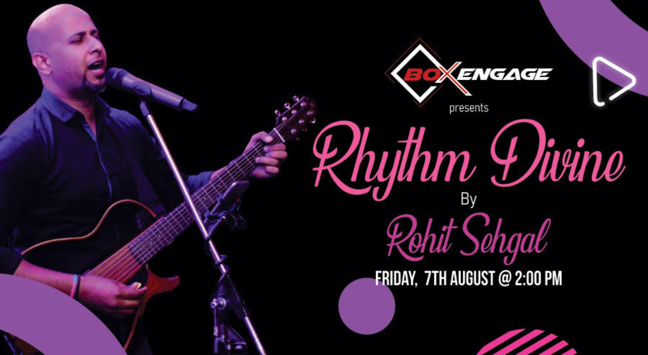 Rythm Divine by Rohit Sehgal