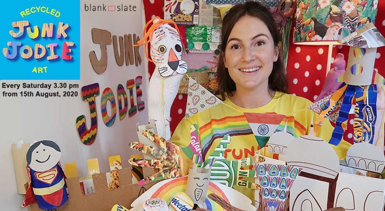 Junk Jodie Recycled Art