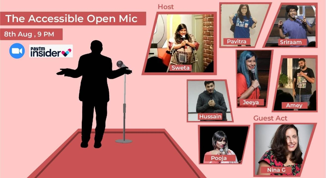 The Accessible Open Mic