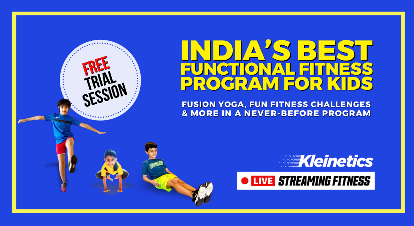 KLEINETICS LIVE Virtual Fitness: FREE SESSION