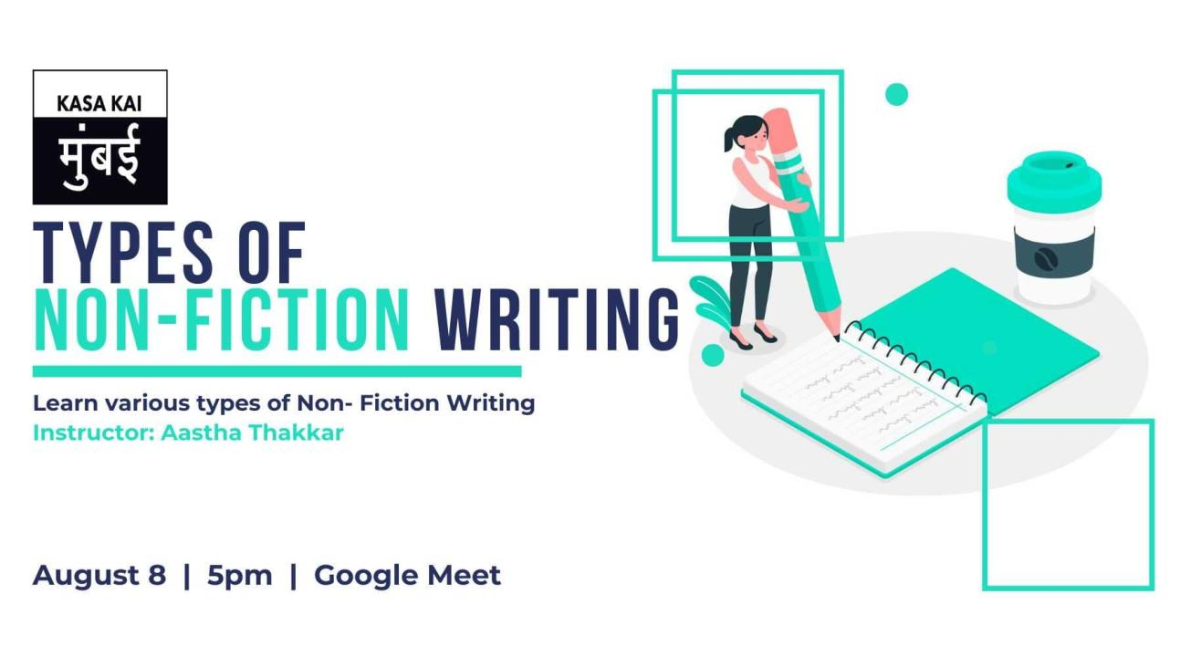 Types of Non-fiction Writing At Google Meet