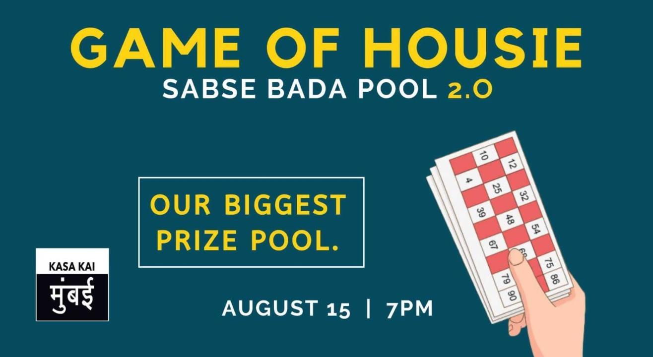 Game Of Housie - Sabse Bada Pool 2.0 At Telegram App