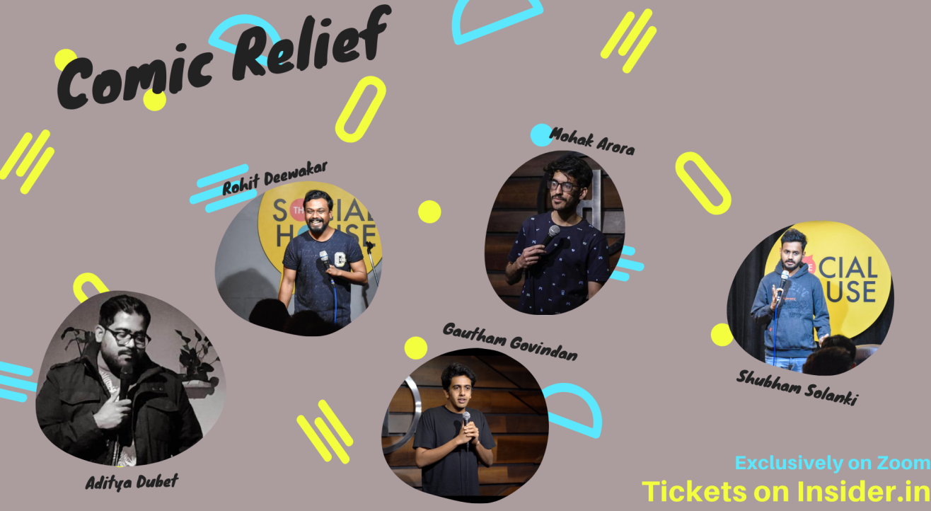 Comic Relief- Stand up Comedy Lineup