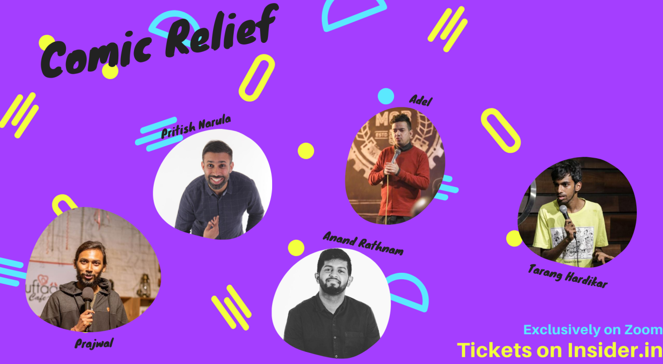 Comic Relief-Standup Comedy Line up