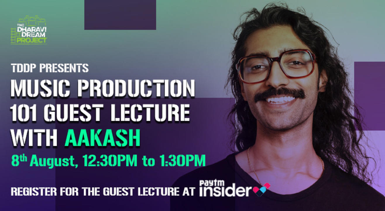 Music Production 101 Guest Lecture with 'Aakash'