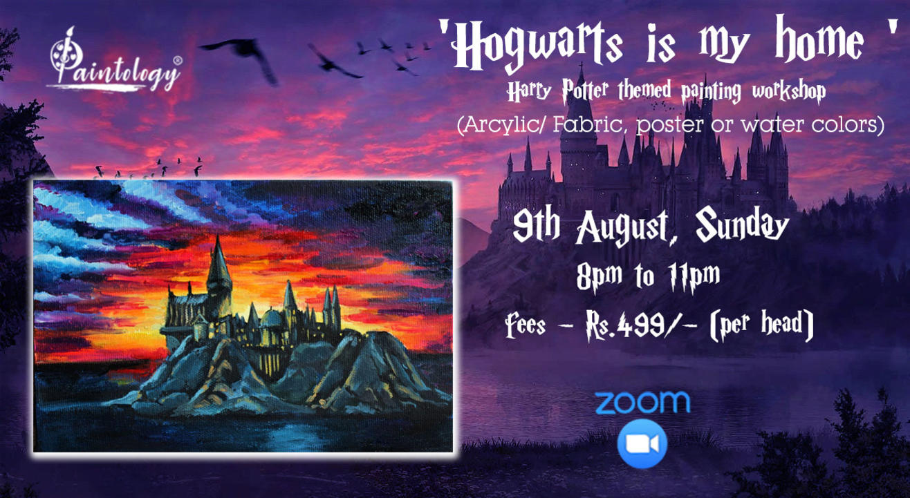 """""""Hogwarts is my home' painting workshop"""