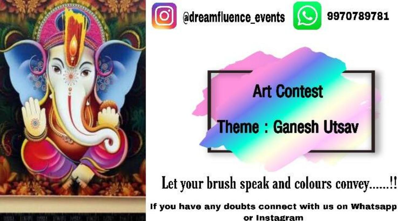 Art contest - Let your brush speak and colours convey!!